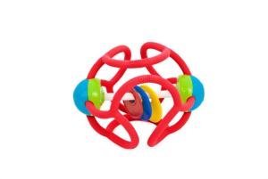 BALLE HOCHET EXTENSIBLE EN SILICONE ROUGE